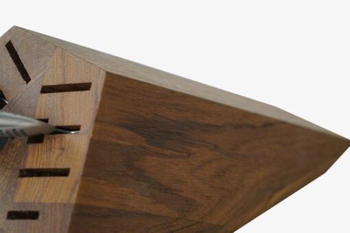 Knivblok i træ til bord